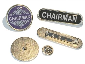CHAIRMAN badge